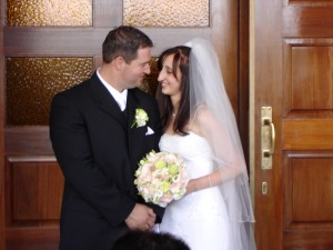 Our wedding 22nd January, 2005