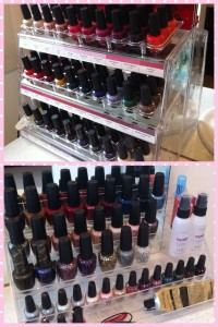 Some of my OPI nail polish collection